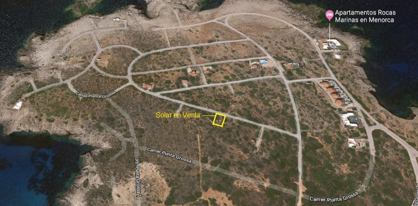 Zona es mercadal(mahon) parcela urbanizable, 750m - imagenInmueble1