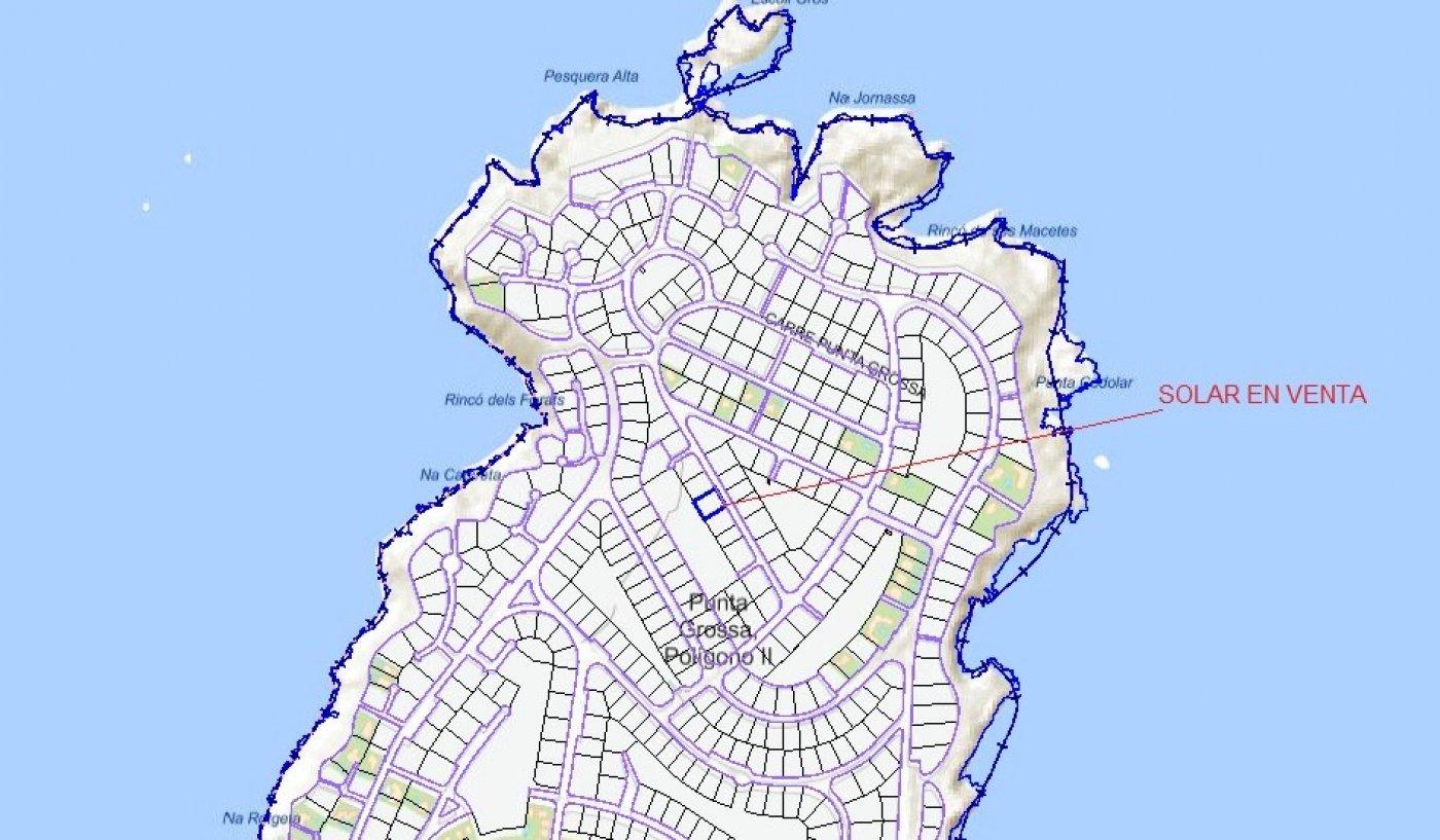 Parcela urbana en venta en Mahón
