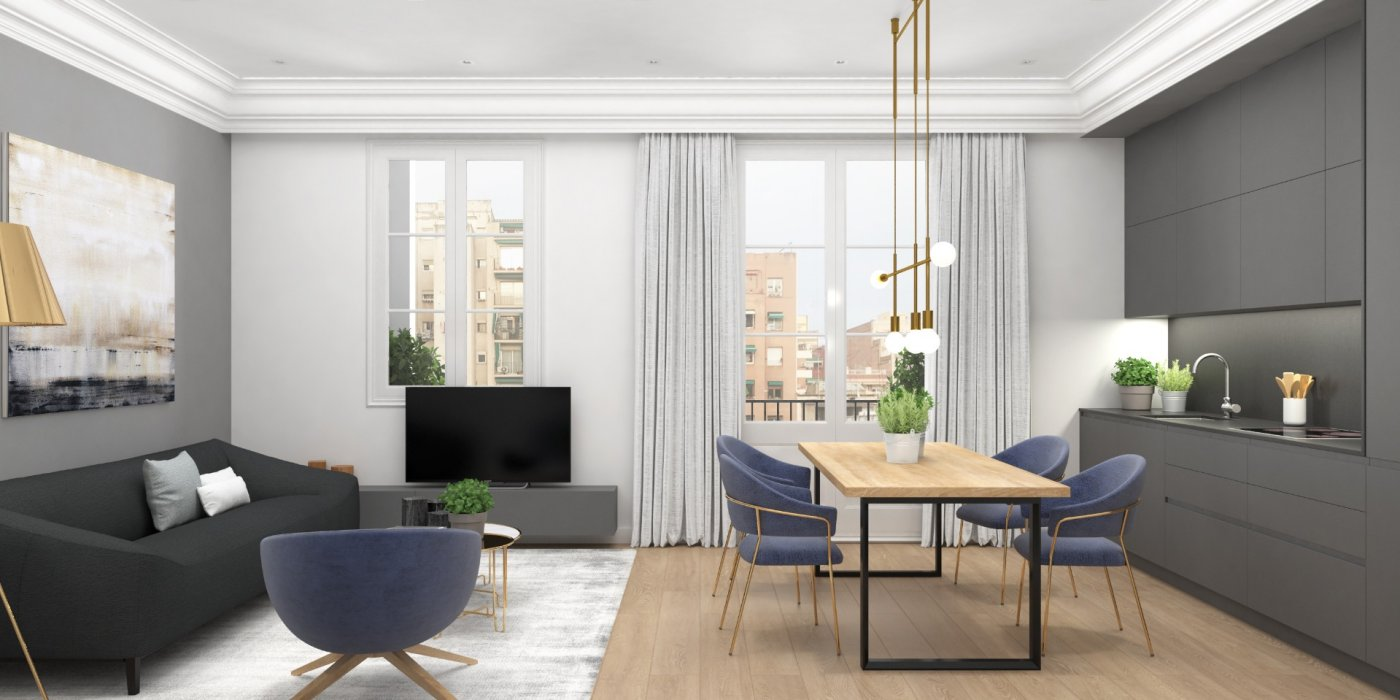 Apartamento en Sagrada Familia - Ref: 09335