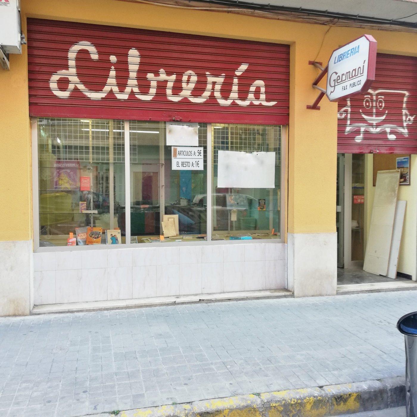 local-comercial en torrent · avd-el-vedal 500€