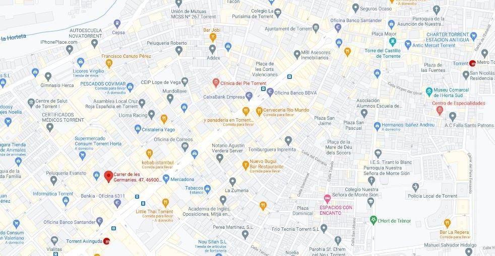 Local Comercial · Torrent · Avd. El Vedal 500€ MES€