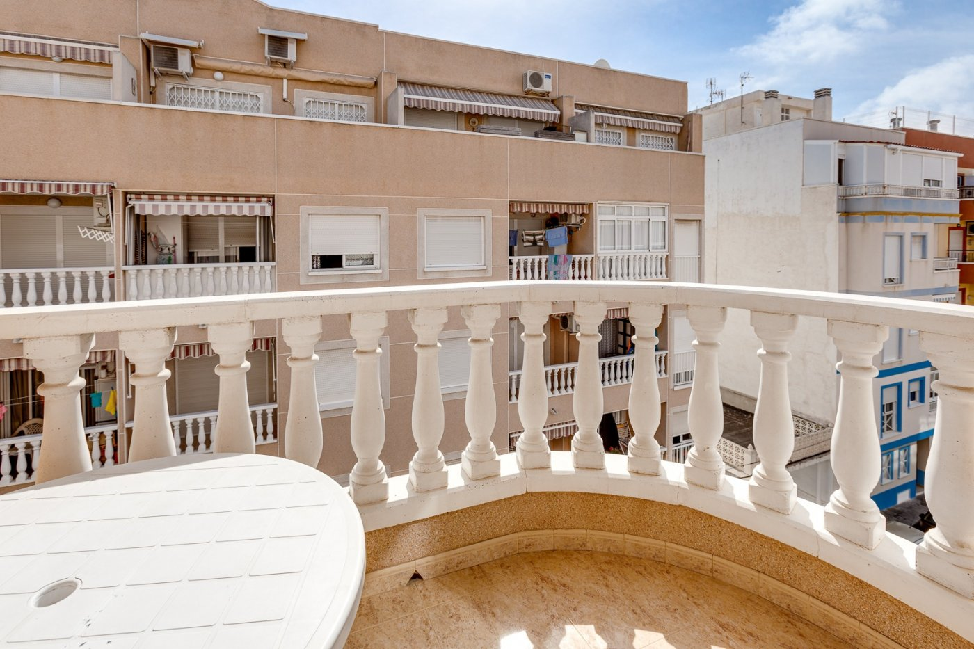 VERY SUNNY TWO BEDROOM APARTMENT 500 METERS FROM THE BEACH , PLAYA DEL CURA.