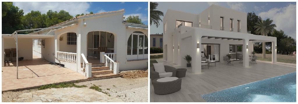 Casa en venta con 0 m2, 3 dormitorios  en Moraira  - Foto 1