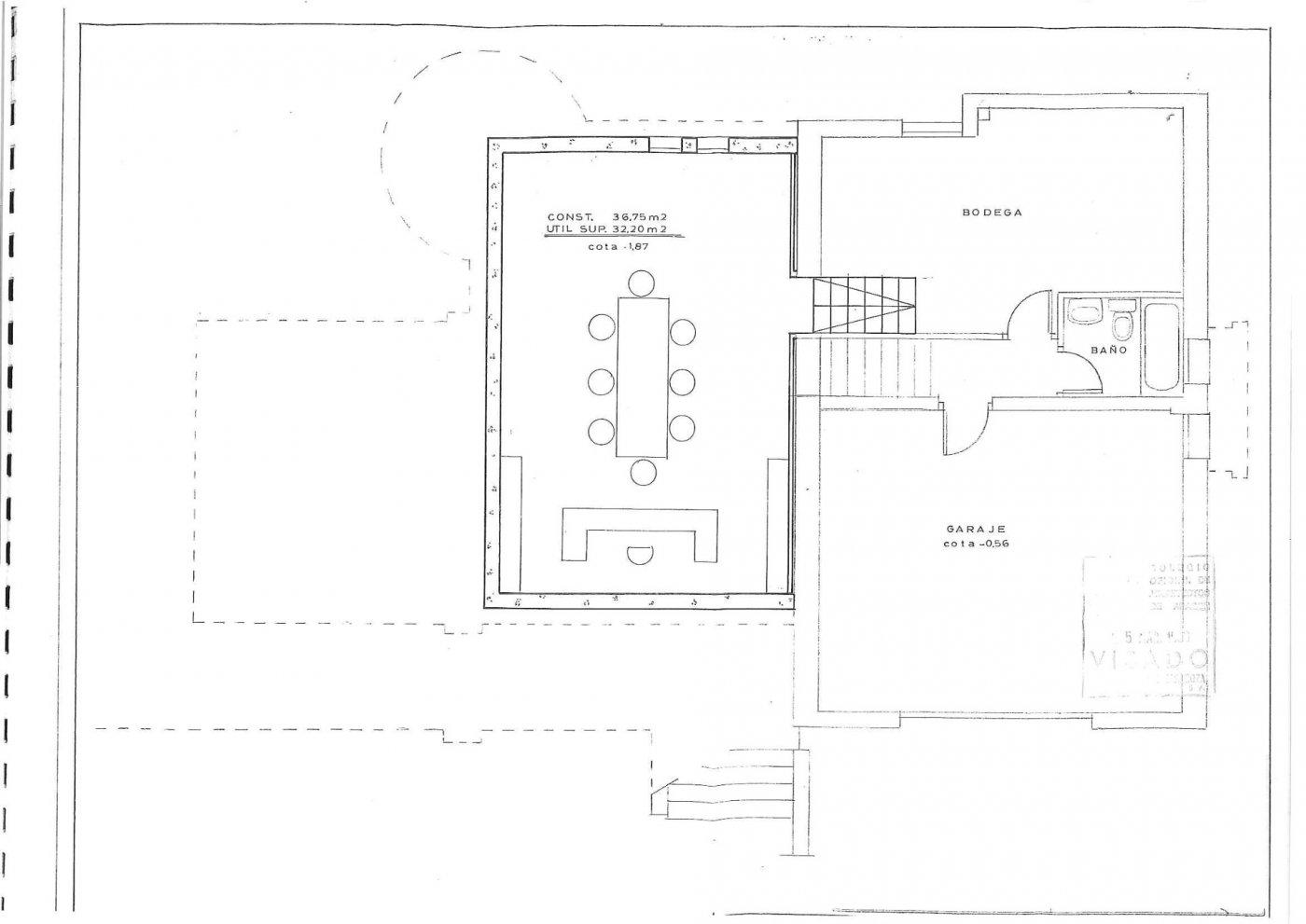 Parcela lateral de 600m2 con casa de 267m2 útiles  de vivienda mas garaje anejo de 45m2 út - imagenInmueble31