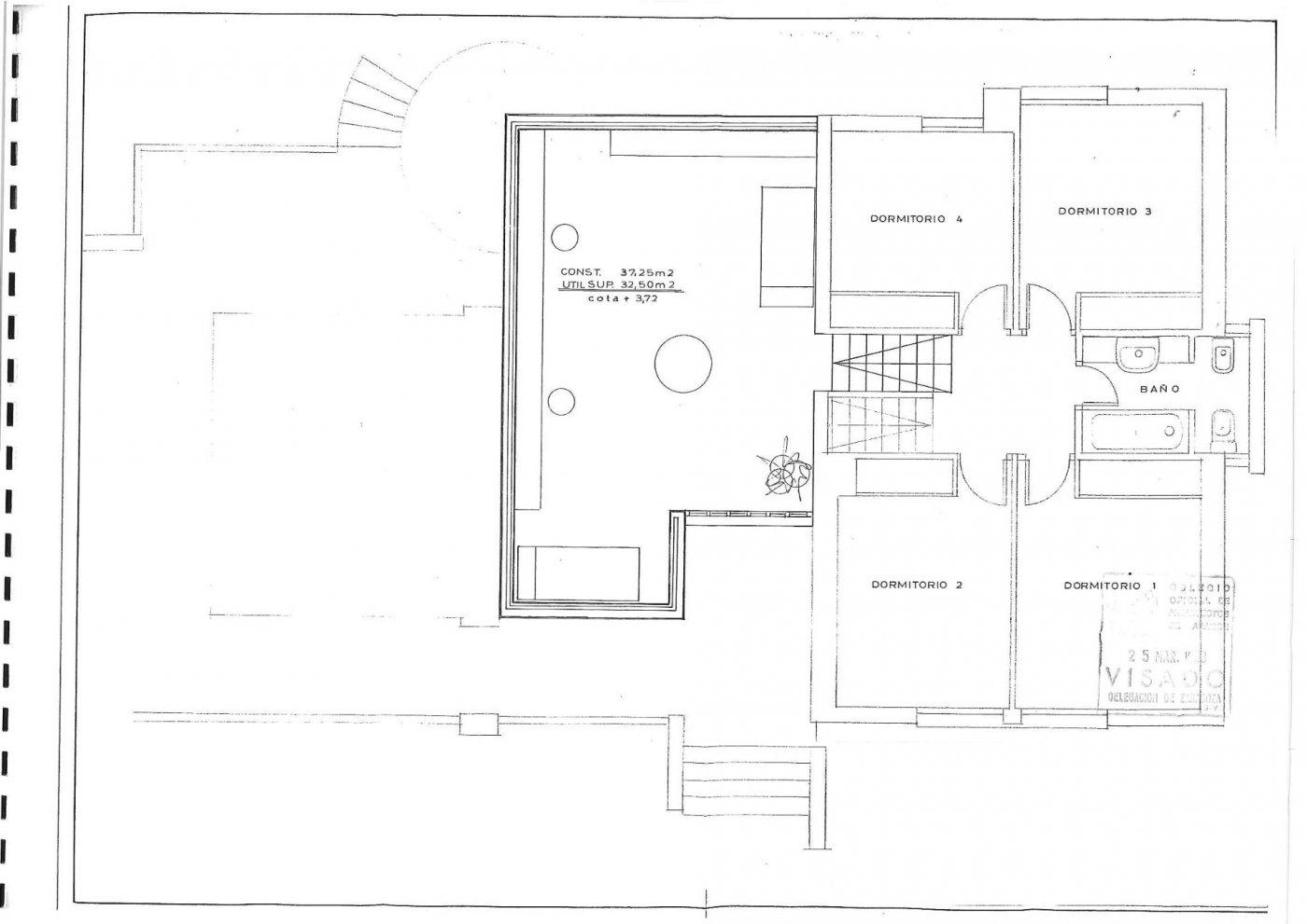 Parcela lateral de 600m2 con casa de 267m2 útiles  de vivienda mas garaje anejo de 45m2 út - imagenInmueble32