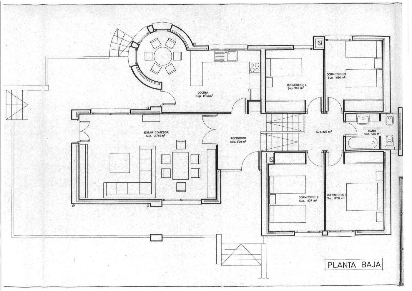Parcela lateral de 600m2 con casa de 267m2 útiles  de vivienda mas garaje anejo de 45m2 út - imagenInmueble33