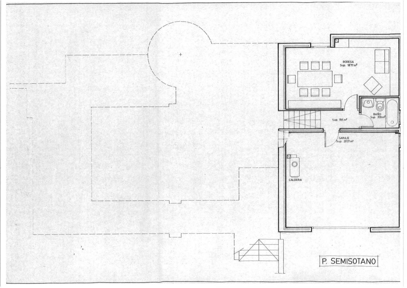 Parcela lateral de 600m2 con casa de 267m2 útiles  de vivienda mas garaje anejo de 45m2 út - imagenInmueble35