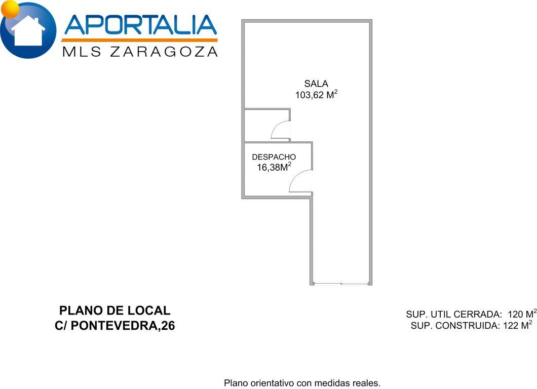 Local Comercial · Zaragoza · Torrero 60.000€ / 350€ MES€
