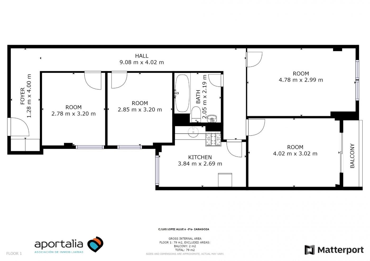 Piso de 3 dormitorios junto a la universidad de zaragoza - imagenInmueble28