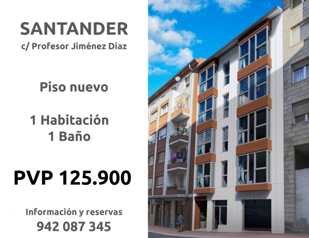 Piso en venta en Santander  de 1 Habitación, 1 Baño y 59 m2 por 125.900 €.