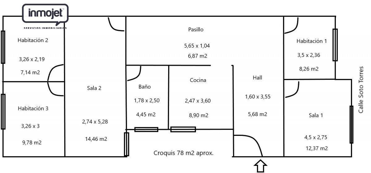 Piso en Langreo - ASTURIAS