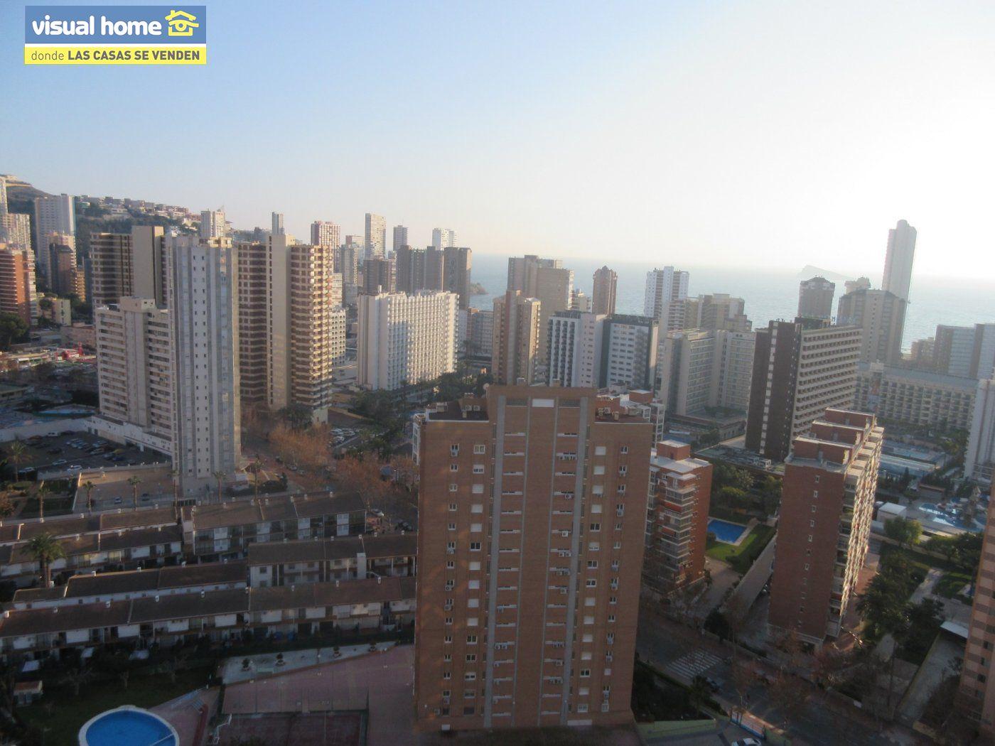 Apartamento 1 dormitorio con vistas espectaculares con parking y piscina en Rincón de Loix llano