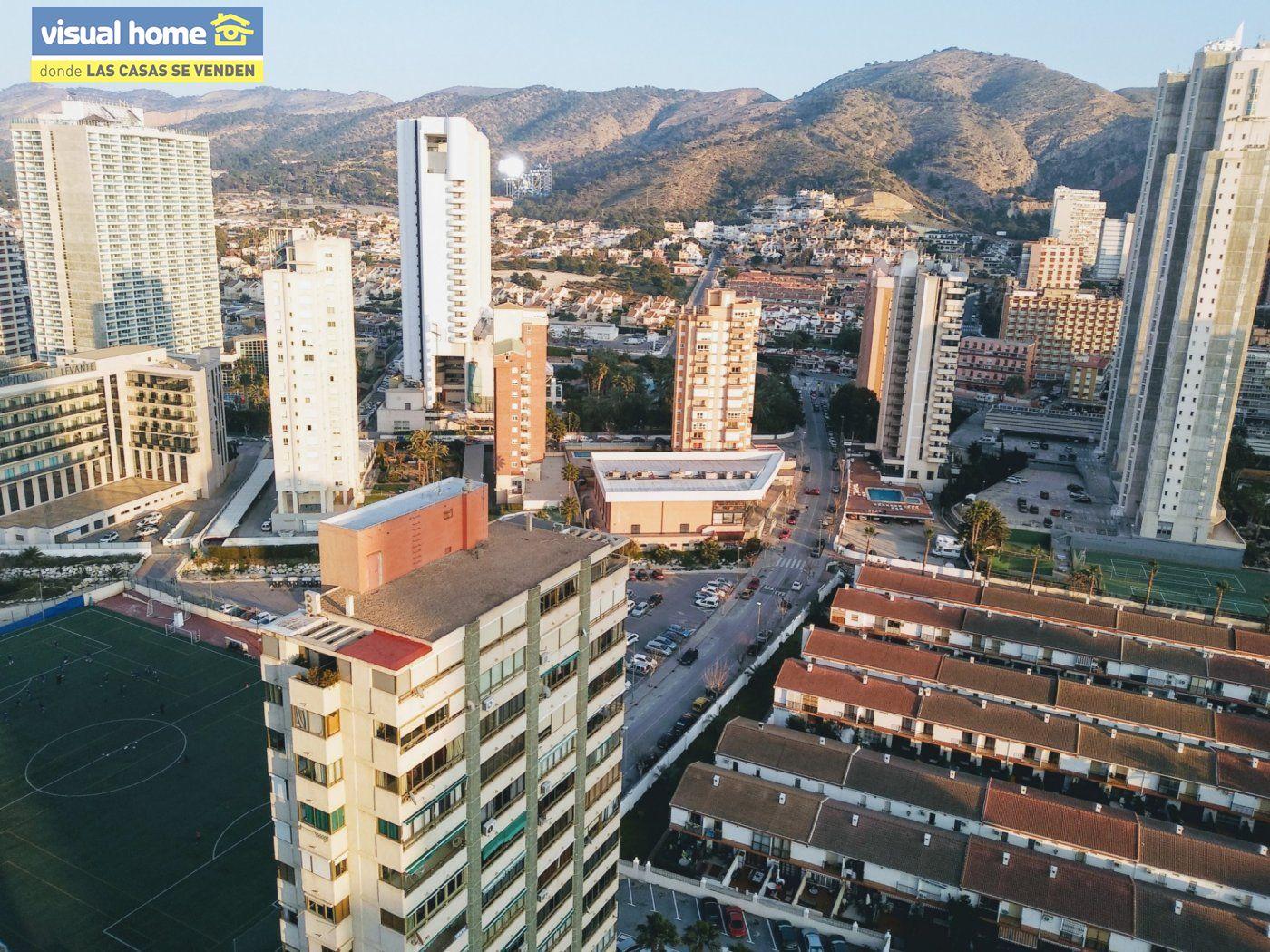 Apartamento 1 dormitorio con vistas espectaculares con parking y piscina en Rincón de Loix llano 26