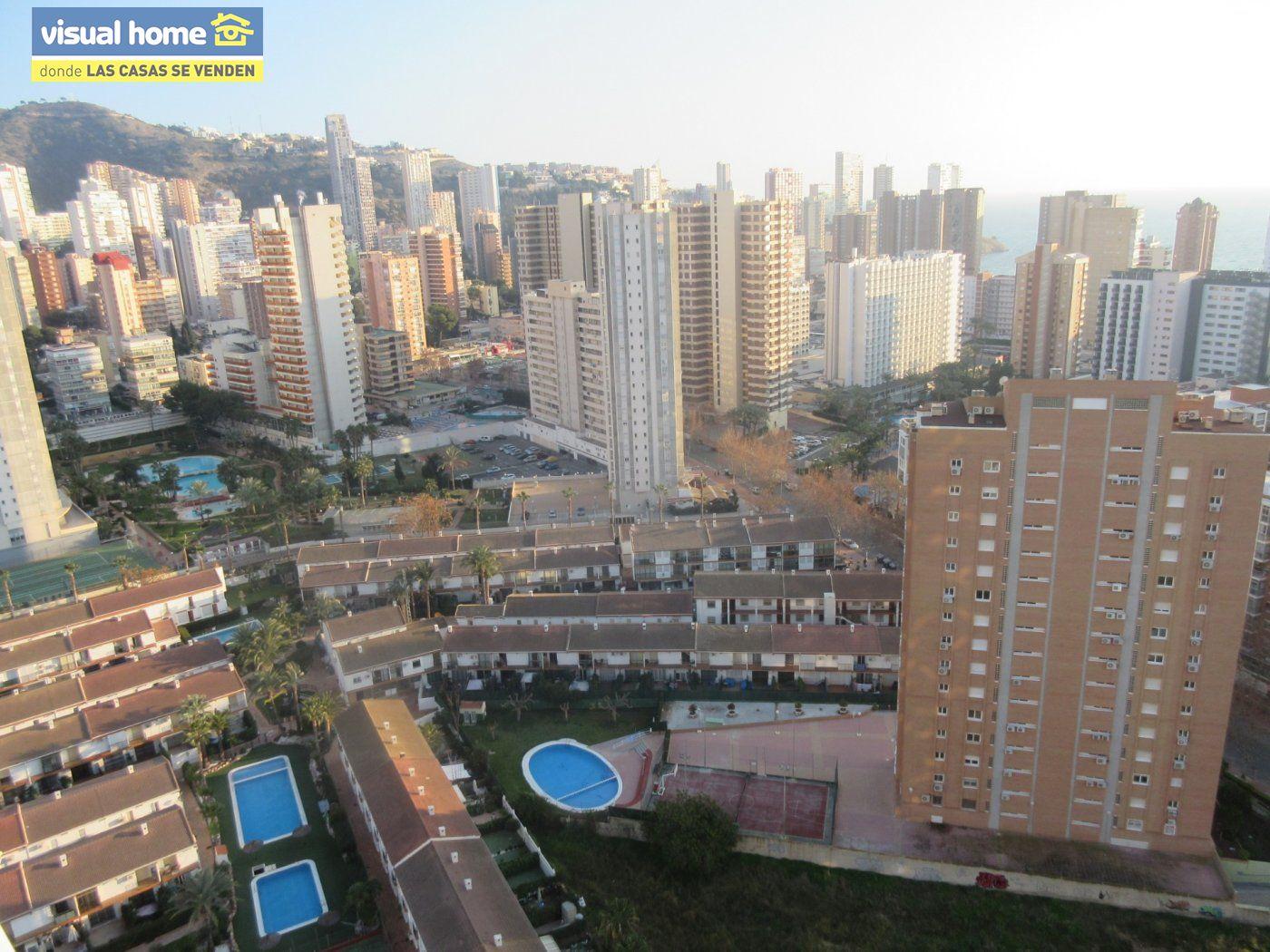 Apartamento 1 dormitorio con vistas espectaculares con parking y piscina en Rincón de Loix llano 32