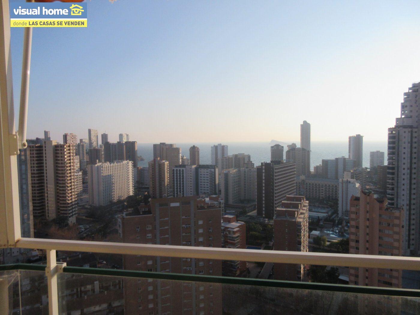 Apartamento 1 dormitorio con vistas espectaculares con parking y piscina en Rincón de Loix llano 33