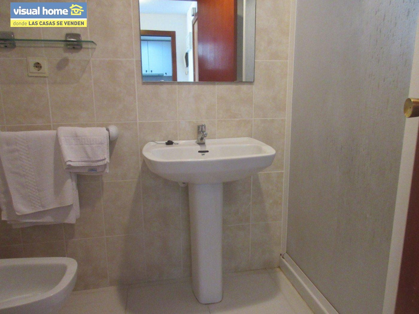Apartamento de un dormitorio con parking y piscina en Rincón de Loix llano 9