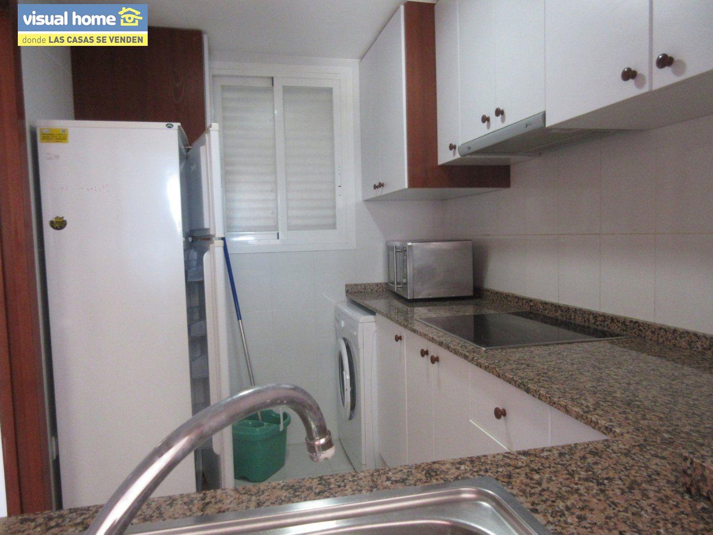 Apartamento de un dormitorio con parking y piscina en Rincón de Loix llano 15