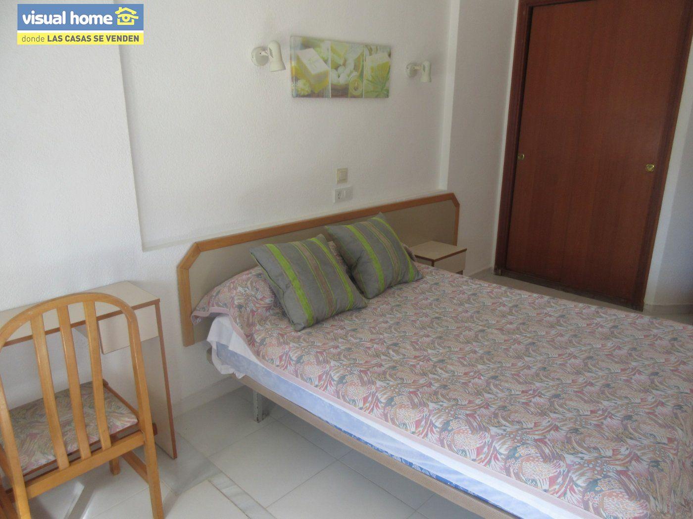 Apartamento de un dormitorio con parking y piscina en Rincón de Loix llano 19