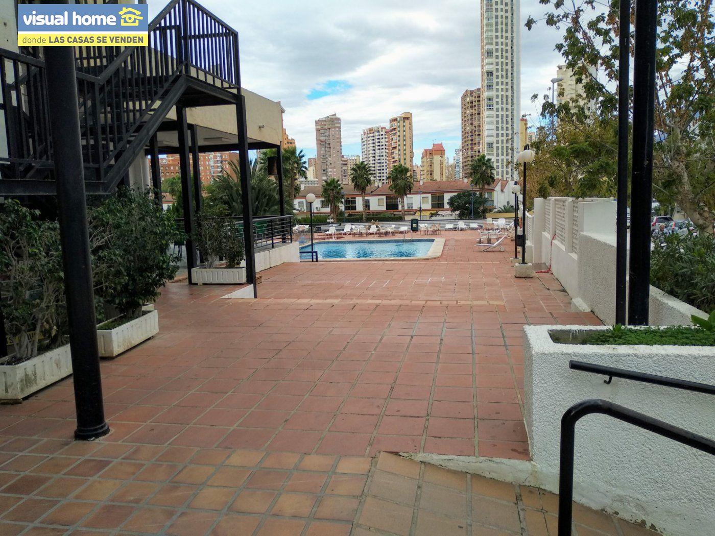 Apartamento de un dormitorio con parking y piscina en Rincón de Loix llano 23