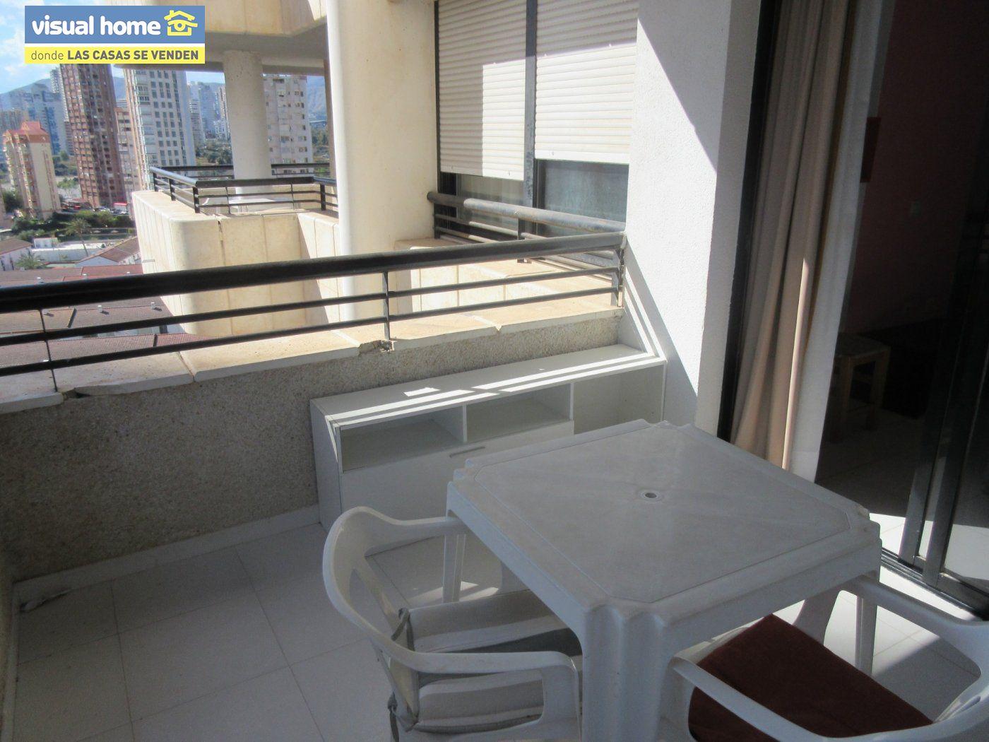 Apartamento de un dormitorio con parking y piscina en Rincón de Loix llano 2