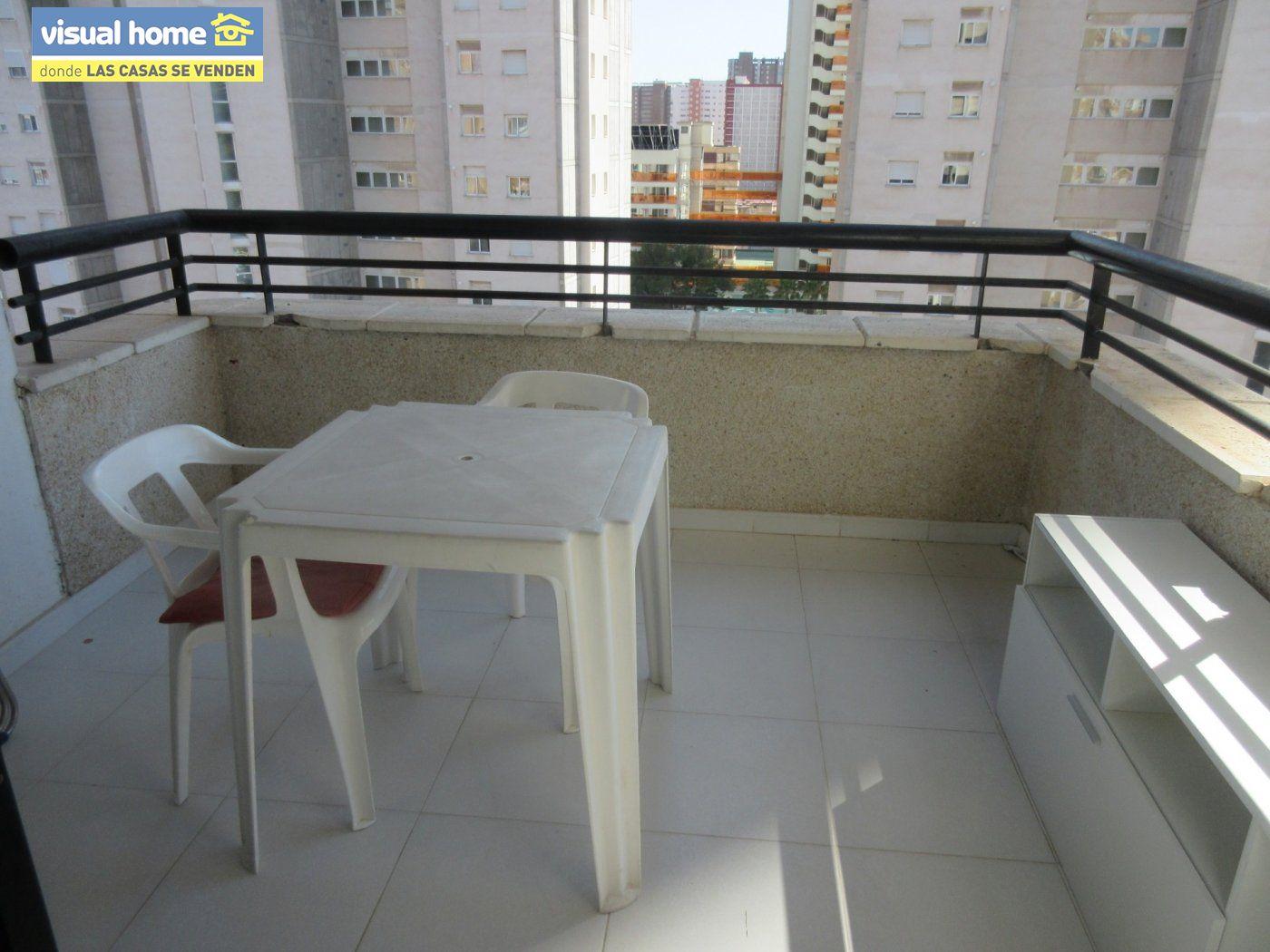 Apartamento de un dormitorio con parking y piscina en Rincón de Loix llano 3