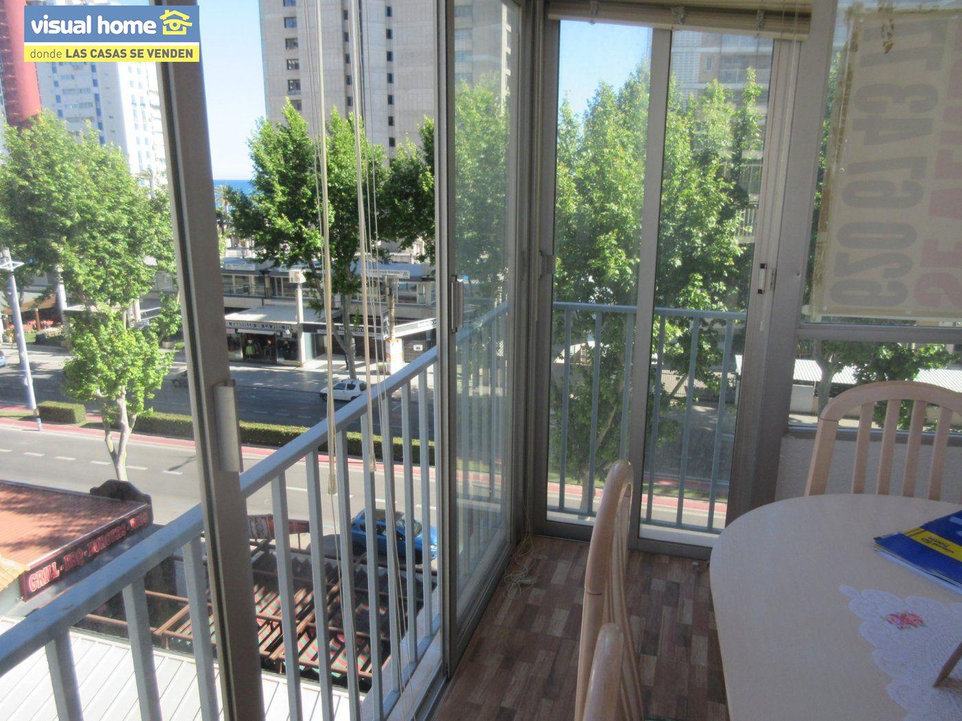 Apartamento todo exterior en Av/ Mediterráneo con garaje y piscina a 50 mts de la playa 15