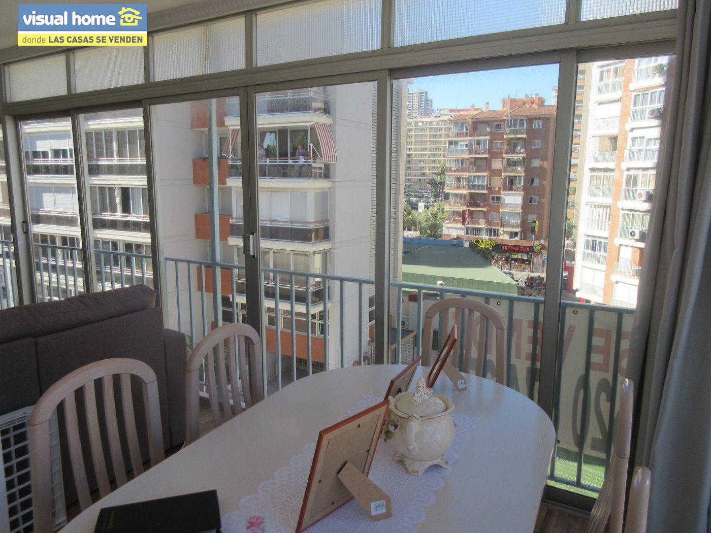 Apartamento todo exterior en Av/ Mediterráneo con garaje y piscina a 50 mts de la playa 21