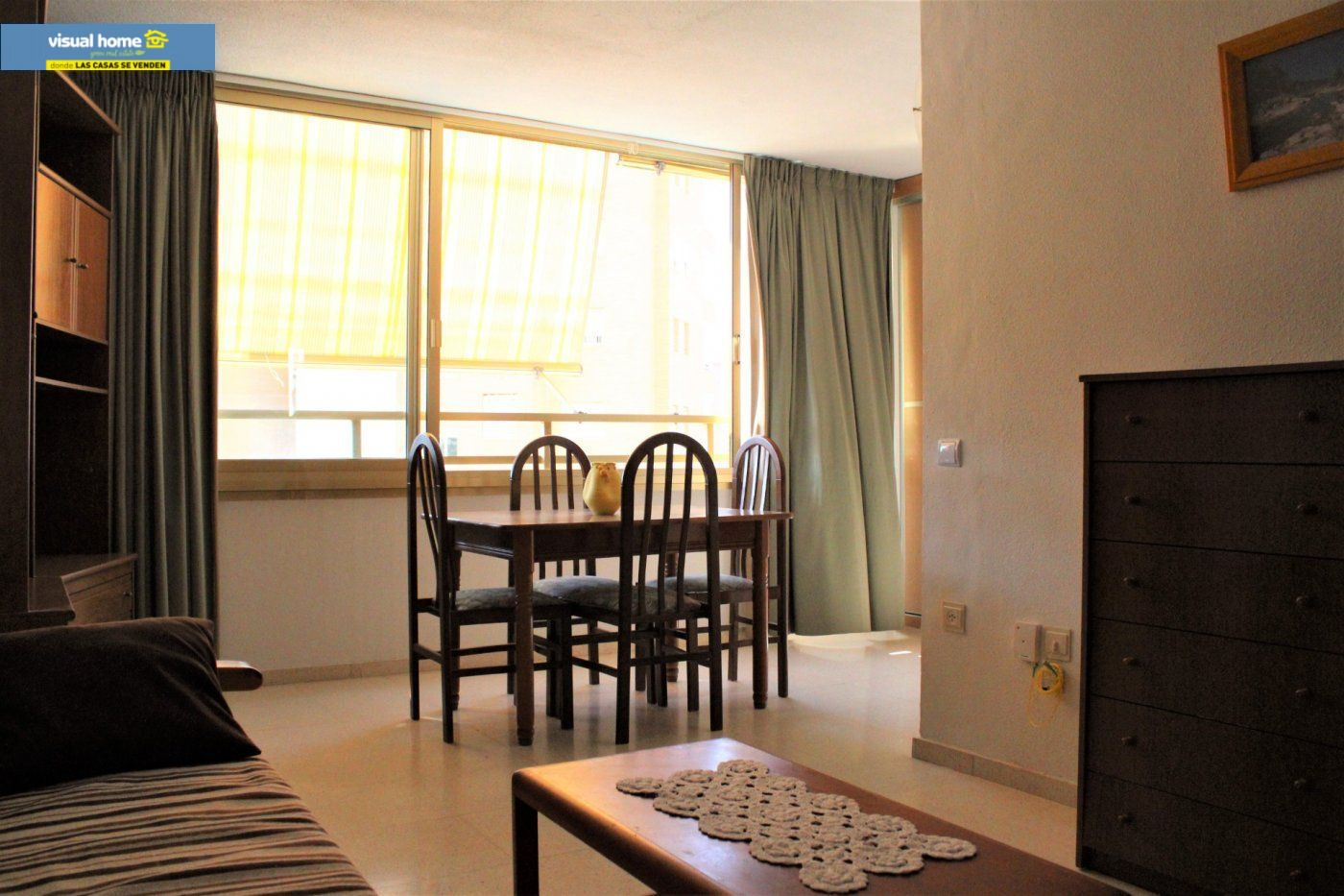 Apartamento en Benidorm zona Levante de 50 m²