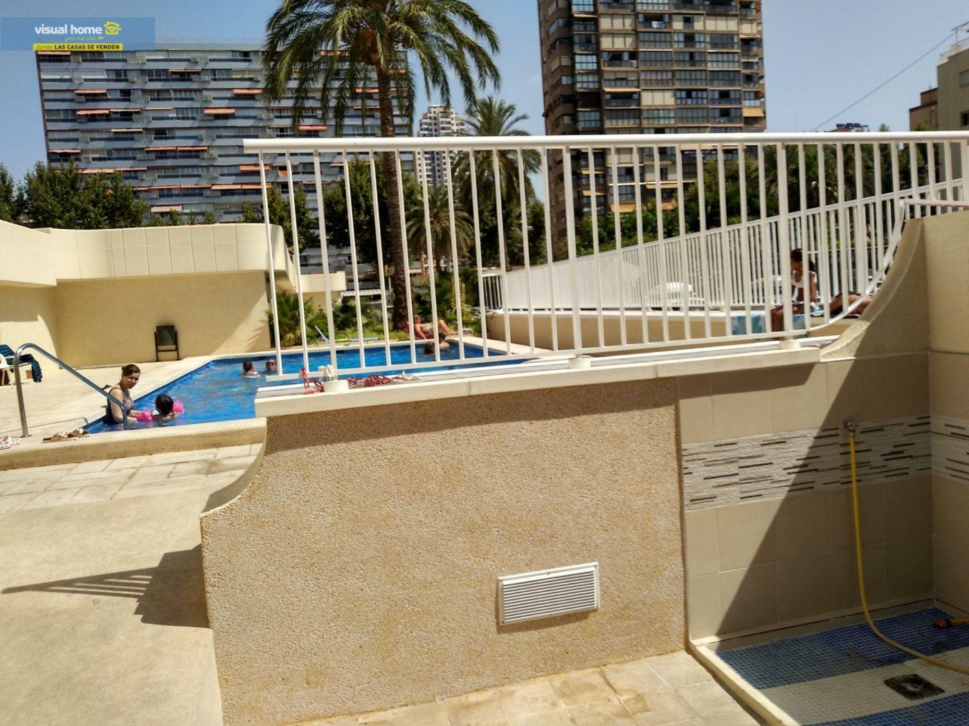 Apartamento de 1 dormitorio con espectaculares vistas  en 1ª linea de playa con parking y piscina 28