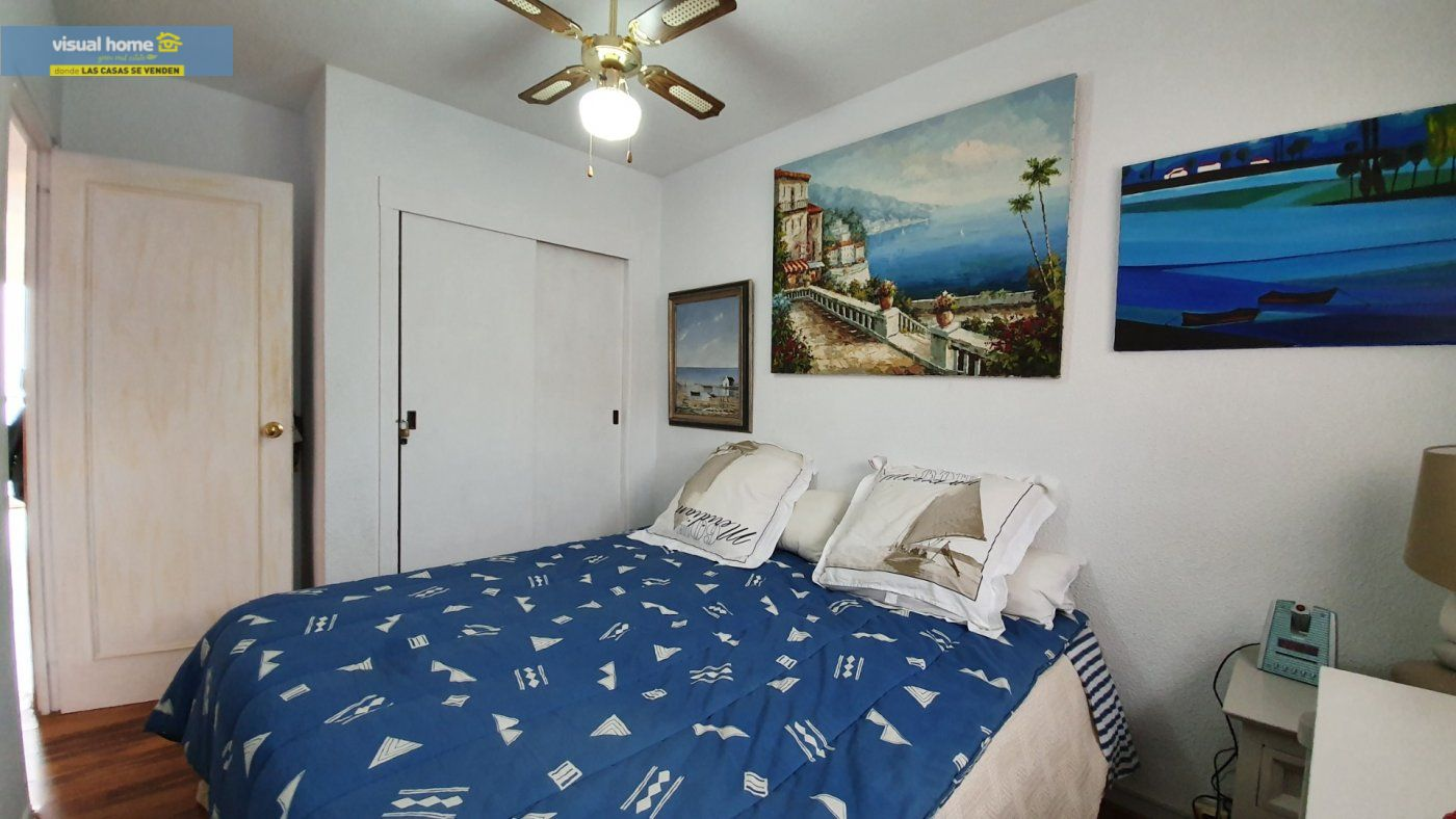 ¡¡¡IMPRESIONANTES VISTAS AL MAR!!! Apartamento de 2 dormitorios con PARKING y piscina. 18