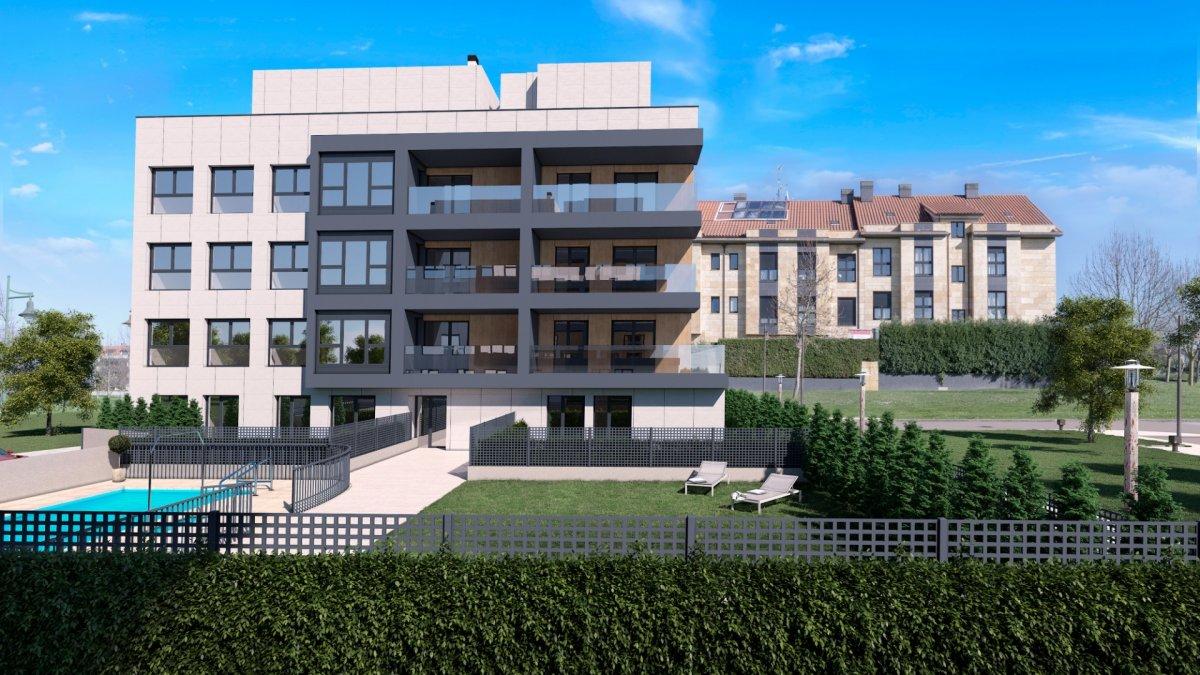 Viesques, en construcción, viviendas con terraza - imagenInmueble2