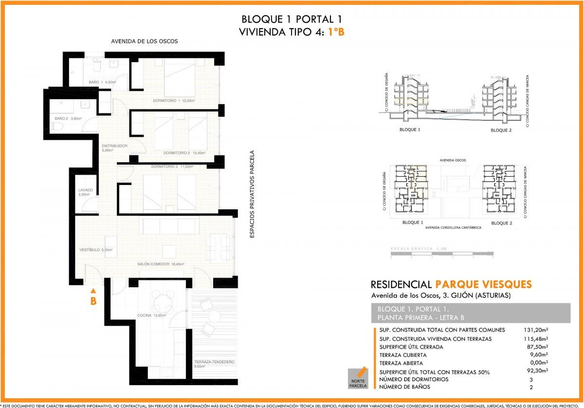 Viesques, en construcción, viviendas con terraza - imagenInmueble8
