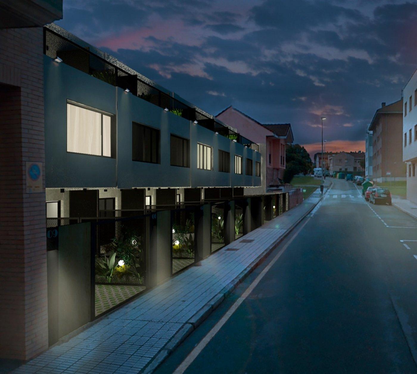 Dos últimos chalets adosados con terrazas tipo ático - imagenInmueble1