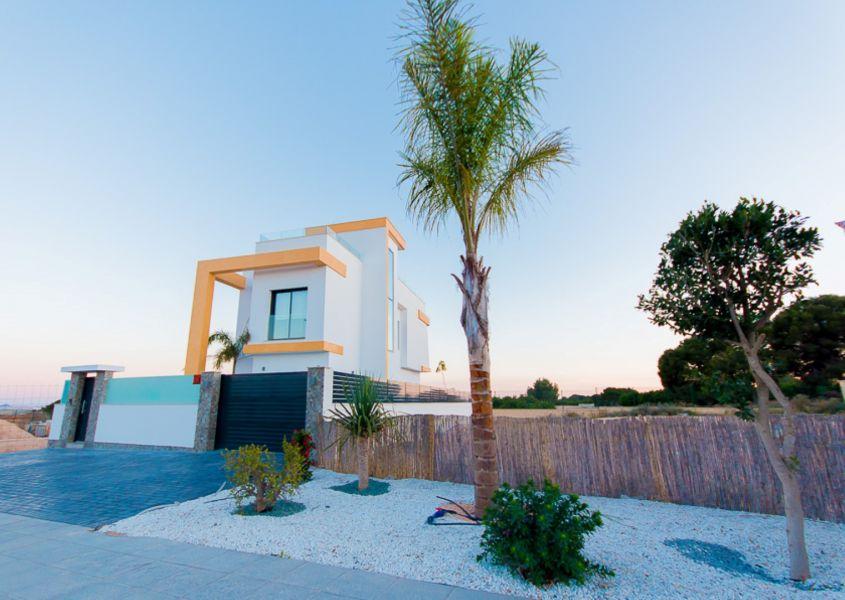 Modern vrijstaande villa's met privé zwembad in Pilar de la Horadada