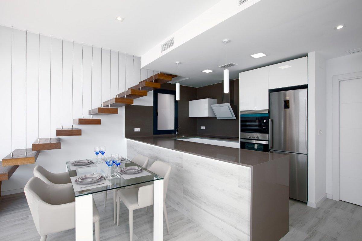 Moderne vrijstaande 3 slaapkamer villa's dicht bij de zee