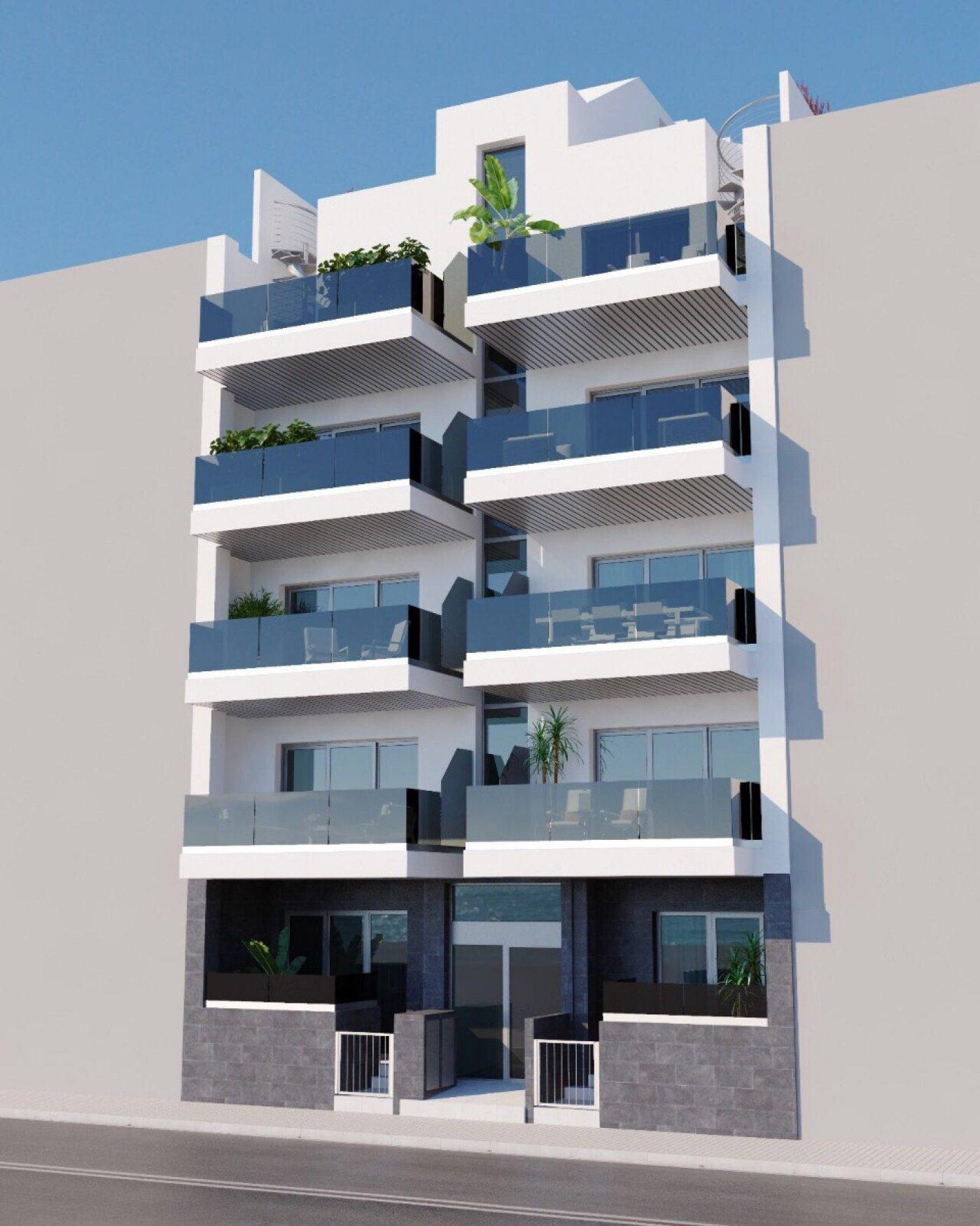 Appartement - Nieuwbouw - Torrevieja - Playa del Cura