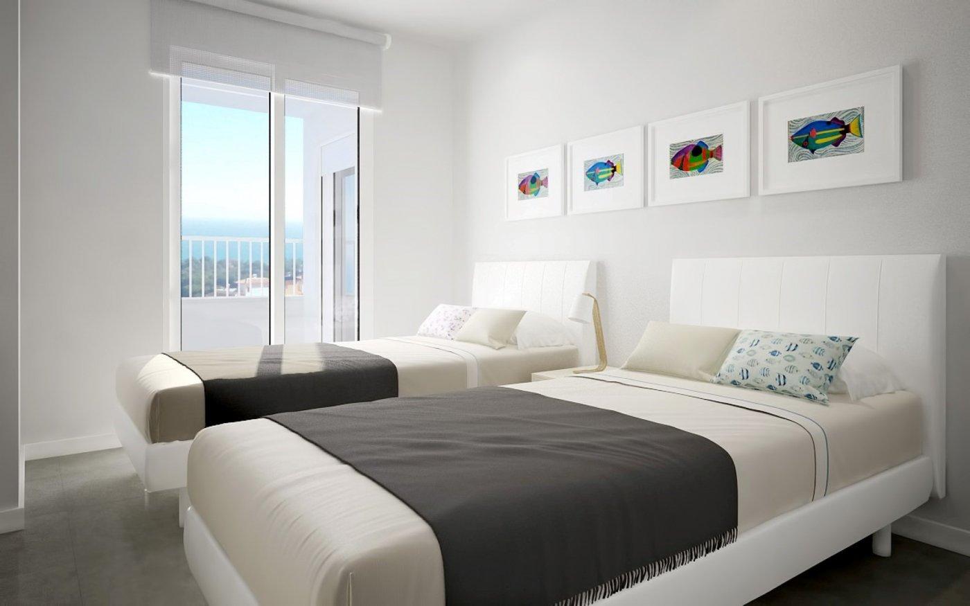 Nieuwe moderne 2 slaapkamer appartementen met uitzicht op zee