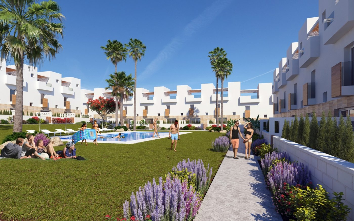 Townhouse - Nieuwbouw - Torrevieja - Playa de Los Locos