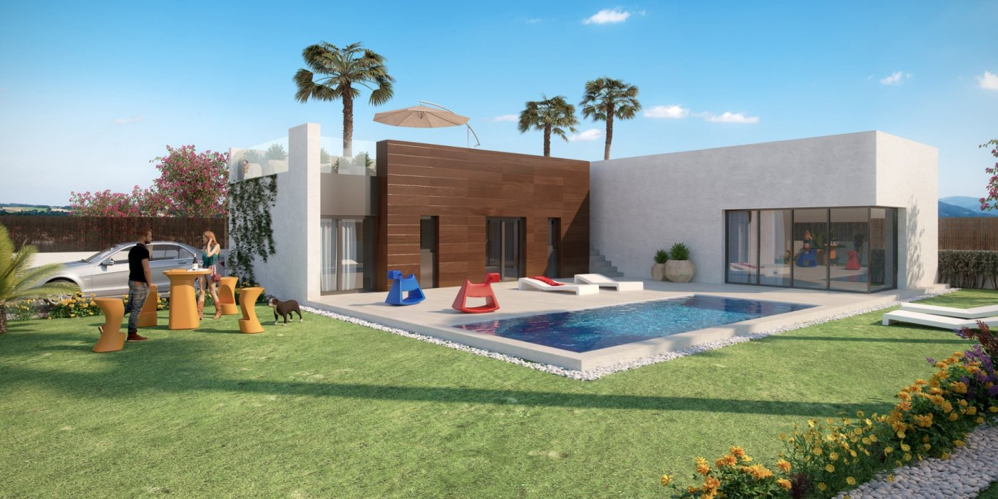 Villa - For Sale - Algorfa - Campo de golf