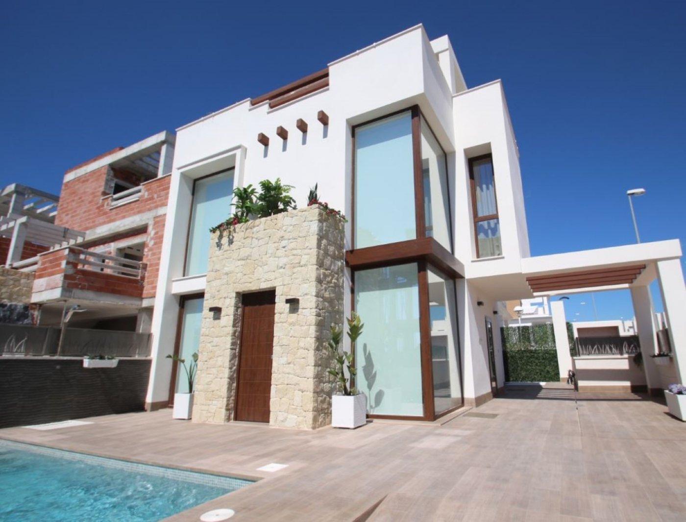 Detached - New Build - La Manga del Mar Menor - Zona Playa Honda
