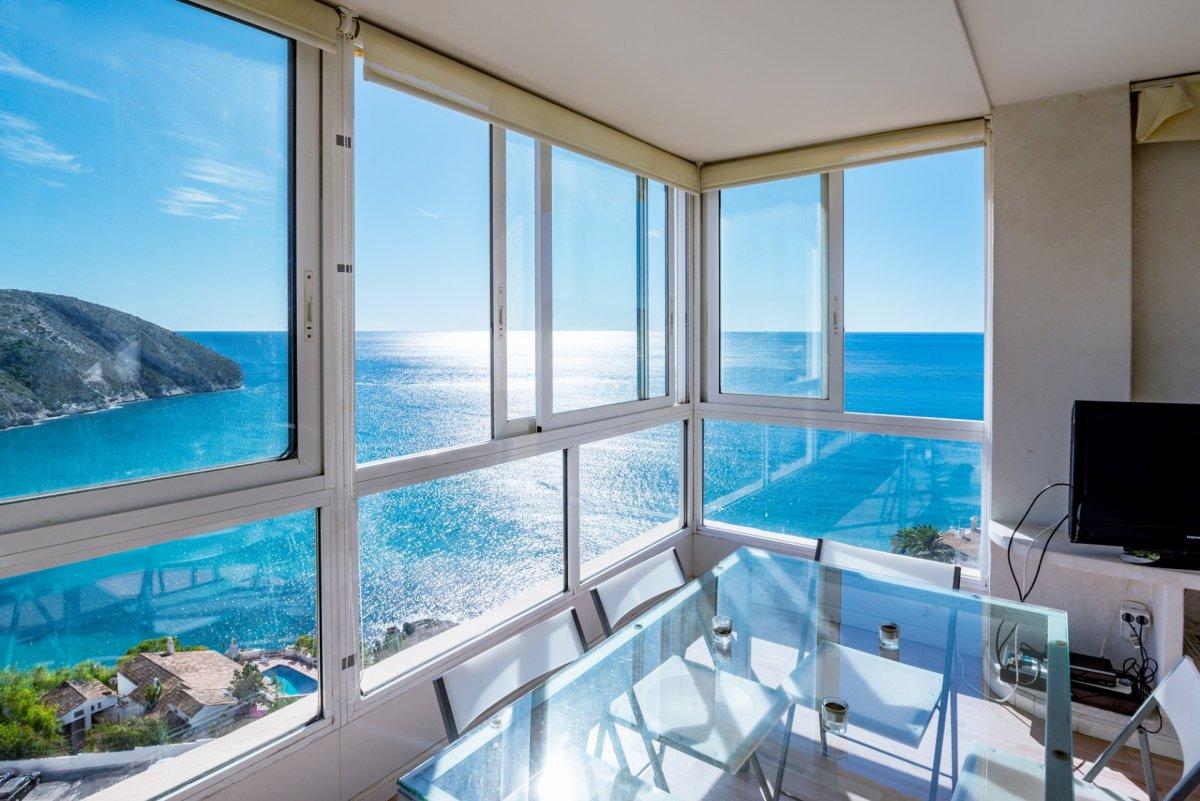 apartamento en moraira · el-portet 325000€
