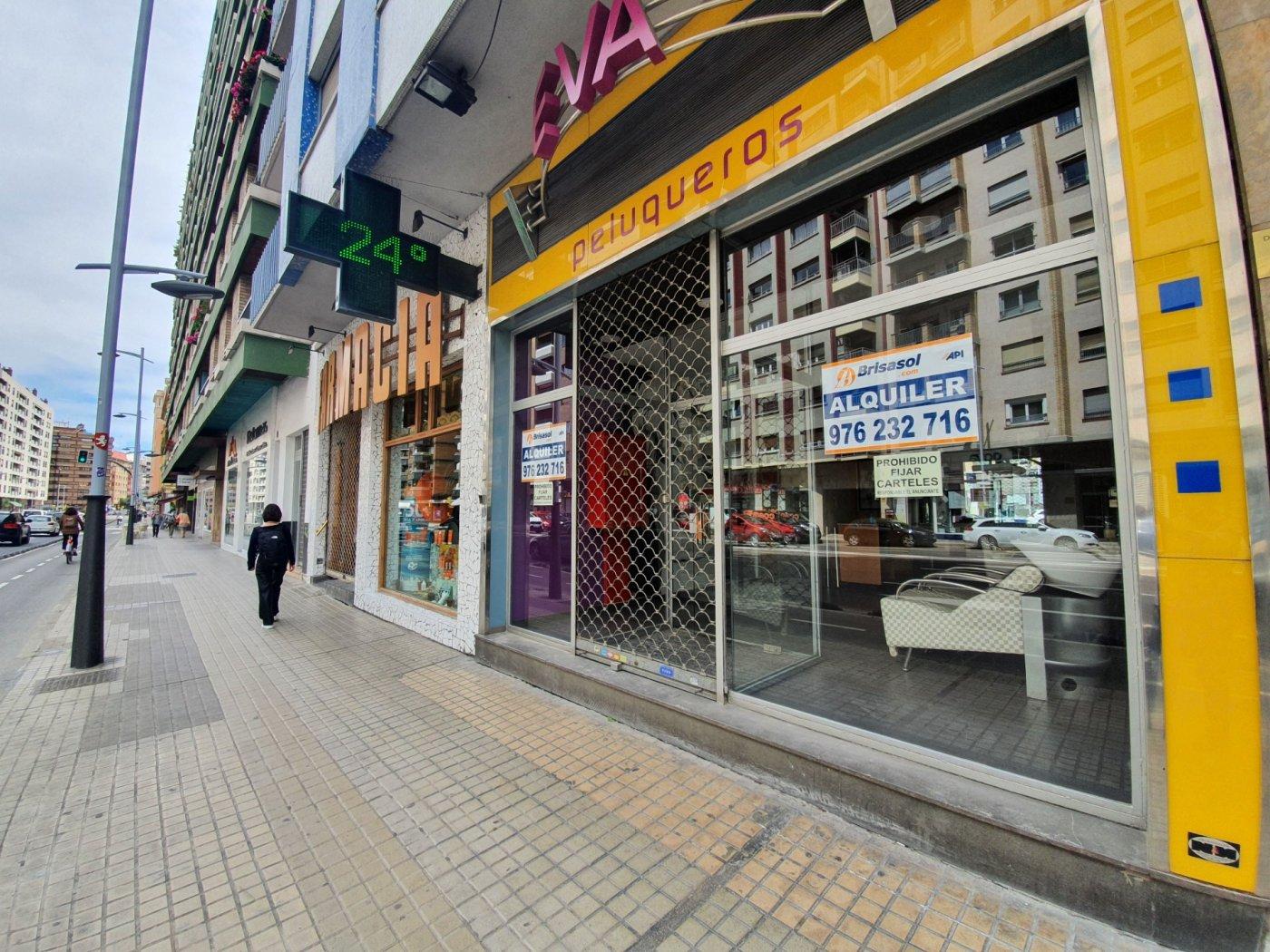 Local Comercial · Zaragoza · Goya 145.000€ / 850€ MES€