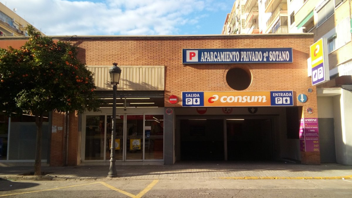 parking en valencia · malilla 74€