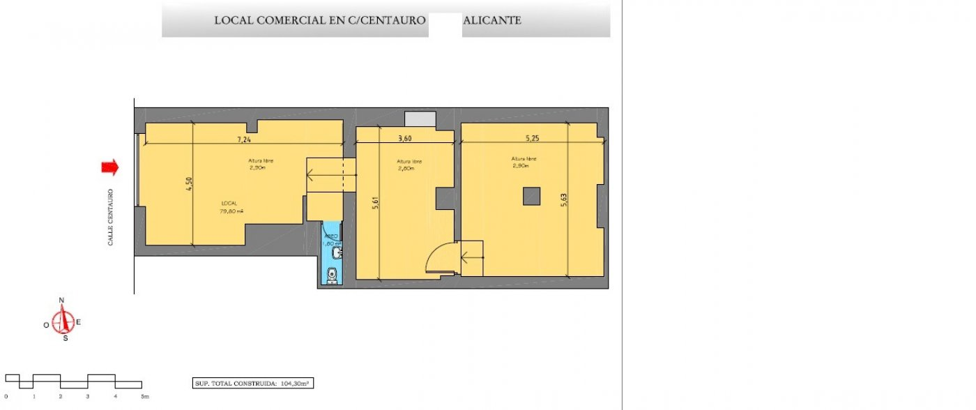 local-comercial en alicante · la-florida 275€