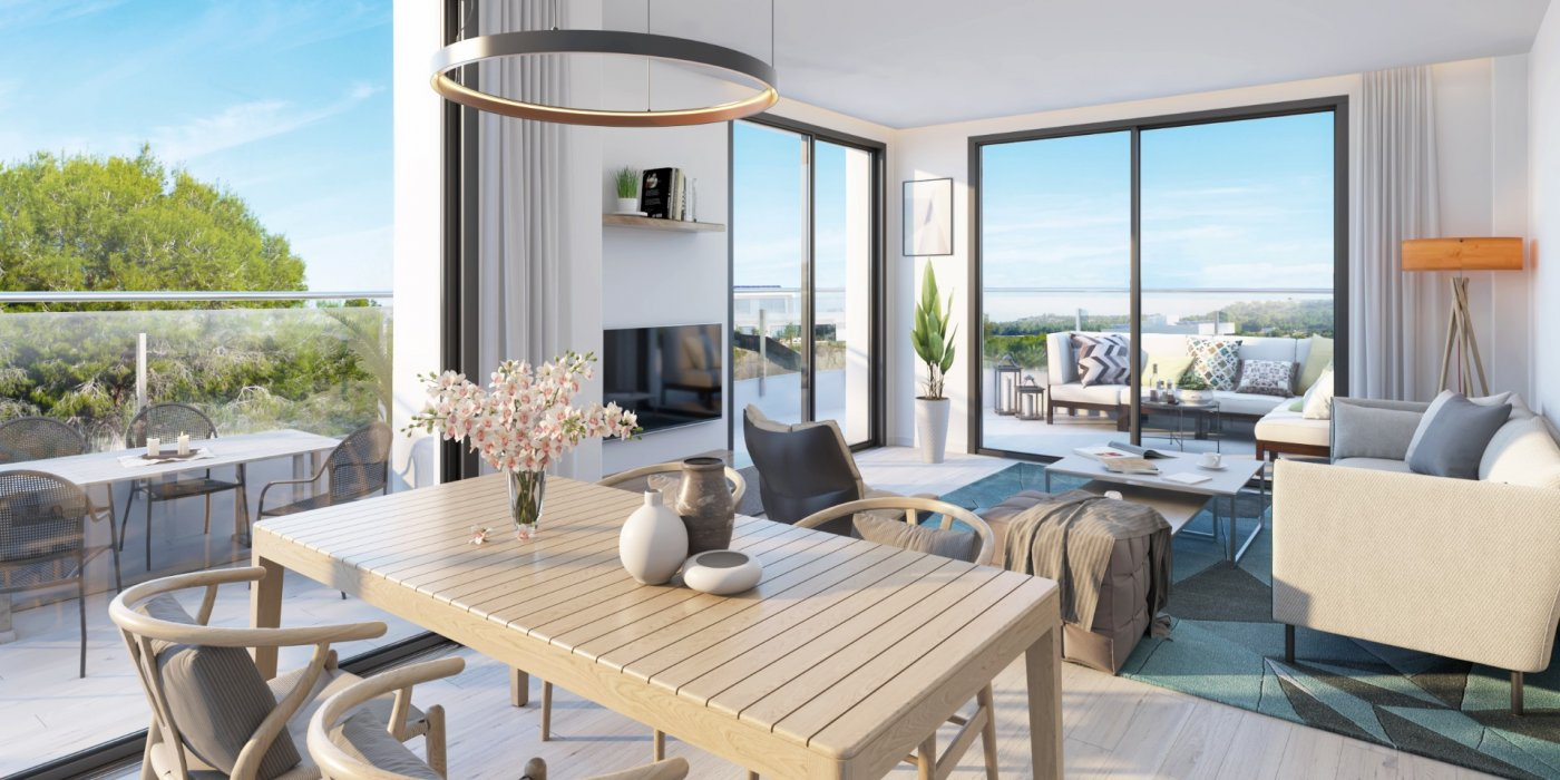 apartamento en orihuela-costa · playa-flamenca 185900€