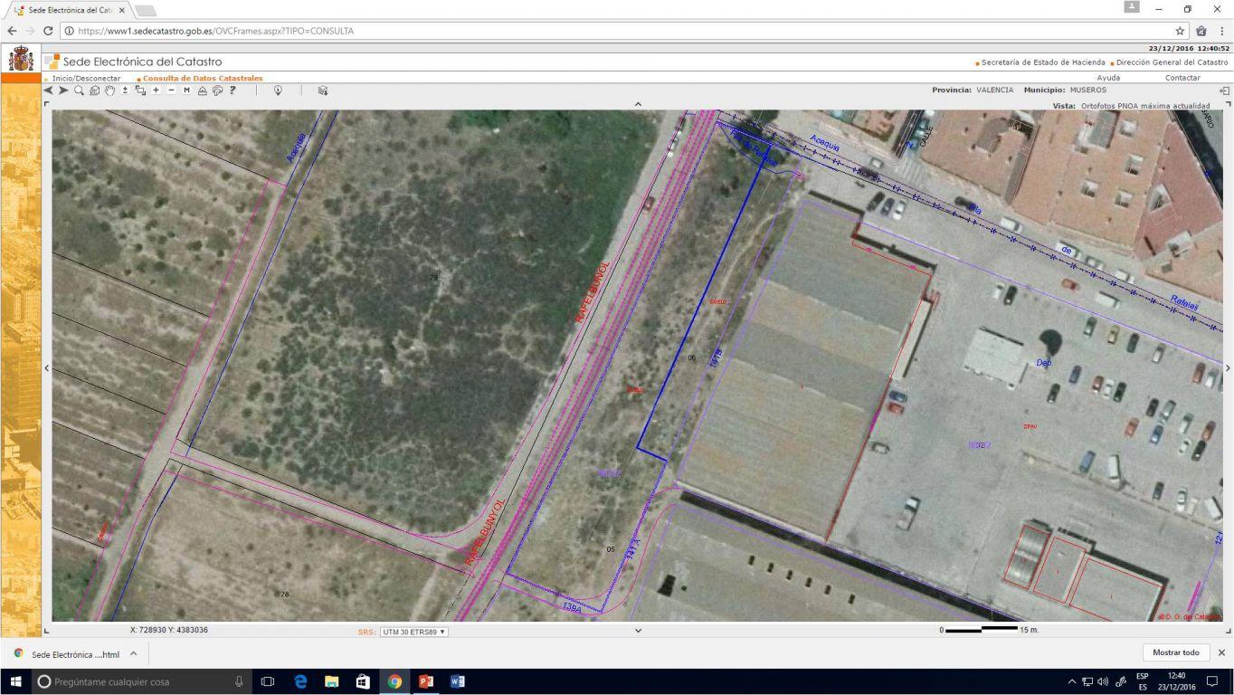 terreno-industrial en museros · poligono-industrial 133000€