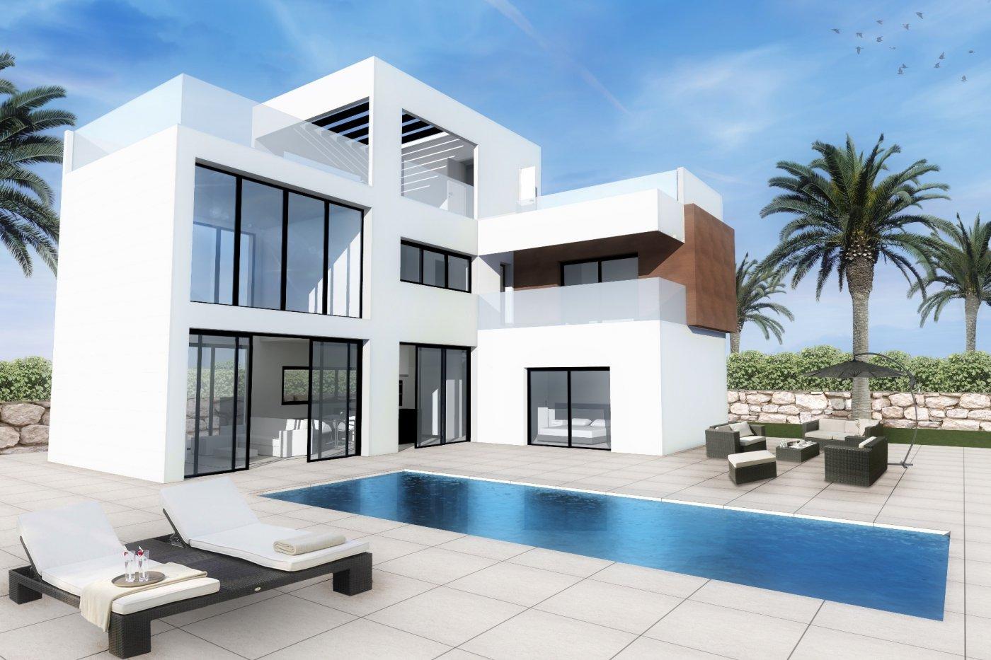 Excelentes Villas con Vistas al Mar en Finestrat.