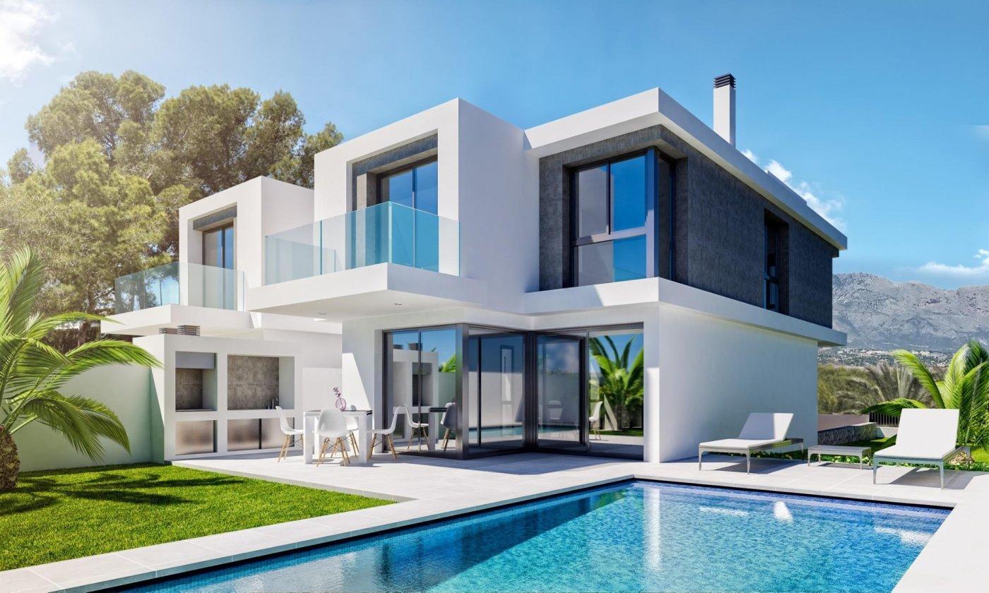 Fantásticas Villas de nueva construcción en el Albir