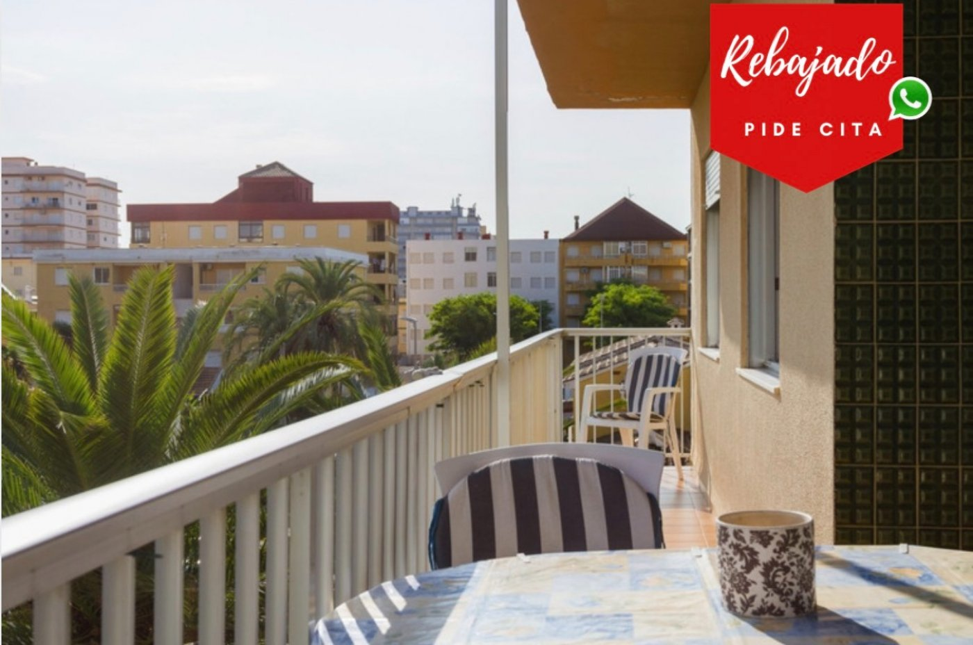 Fabuloso apartamento a 120 metros de la playa. - imagenInmueble0