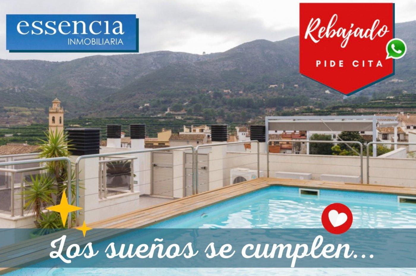 Fuera covid ! faboloso ático con vistas con terraza y piscina comunitaria y zona chillout. - imagenInmueble18